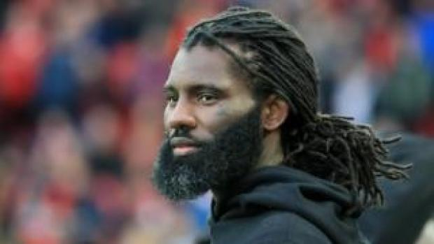 Wretch 32 pitch side at the UEFA Champions League Semi Final in May 2019