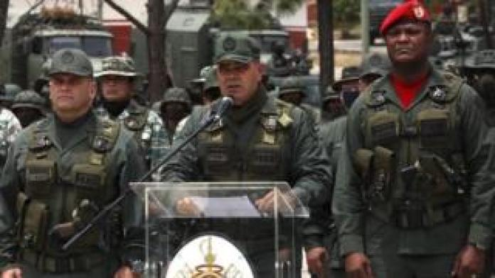 Venezuelan Defense Minister Vladimir Pedrino thanked the Iranian people for their solidarity with their country.