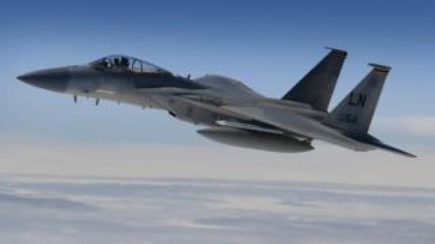 An F-15C Eagle