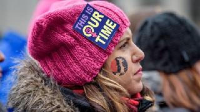 Women's Unity Rally in New York City