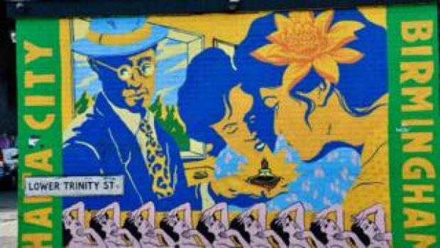 Street art by Broken Fingaz