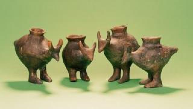 Small, spouted vessels found in Bronze and Iron Age graves of infants in Bavaria were probably used to feed animal milk to babies and small children