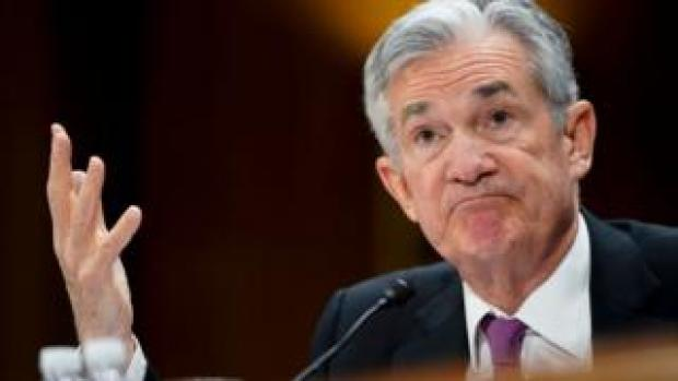 US Federal Reserve chairman Jerome Powell