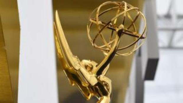 The Emmy statuette