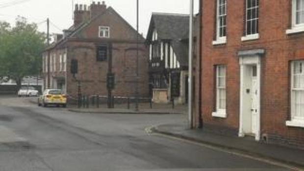 The scene in Pen Street
