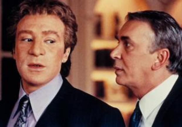 Lenny Henry and Frank Langella in 1991 film True Identity