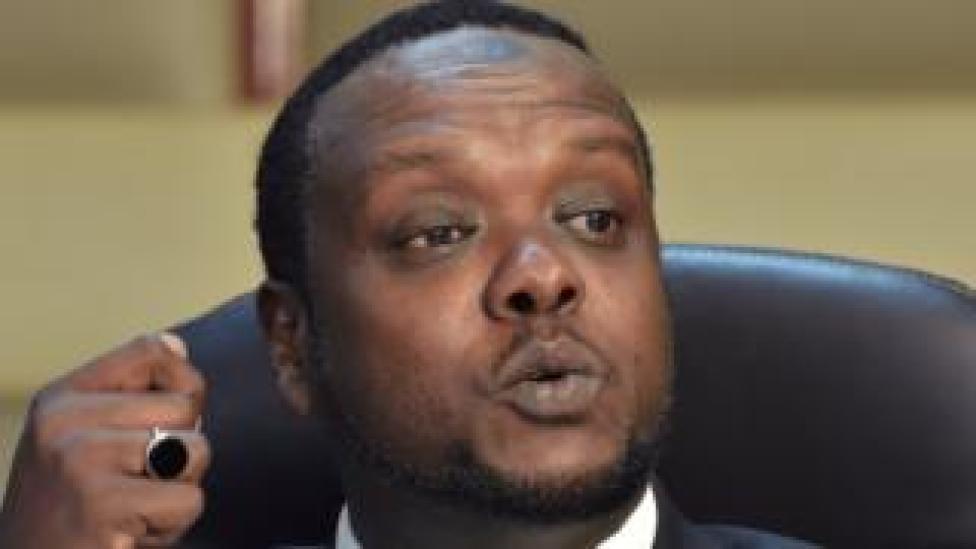 NEWS Former Kenyan sports minister Hassan Wario