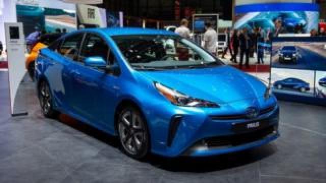 Toyota Prius at Geneva Motor Show