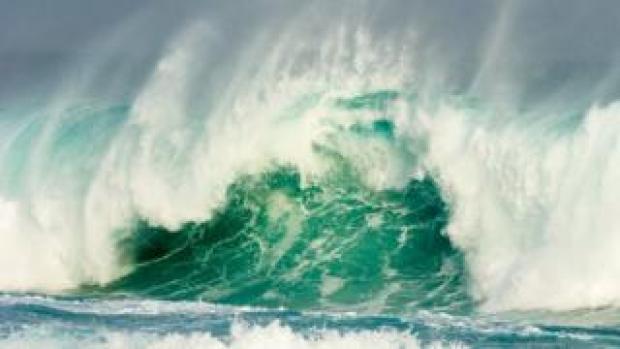 Large wave
