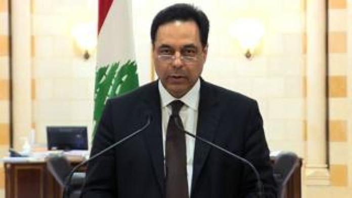 Lebanese PM Hassan Diab