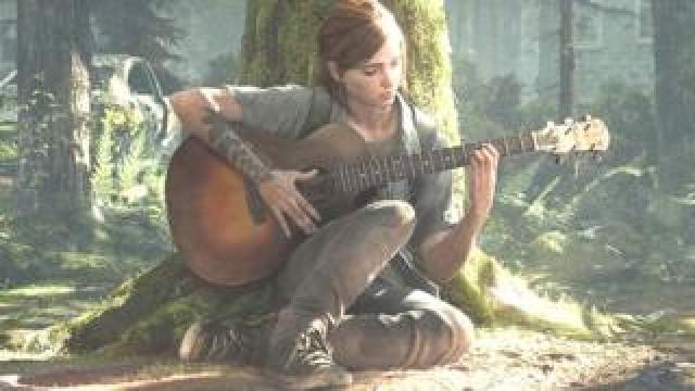 Ellie in The Last of Us 2