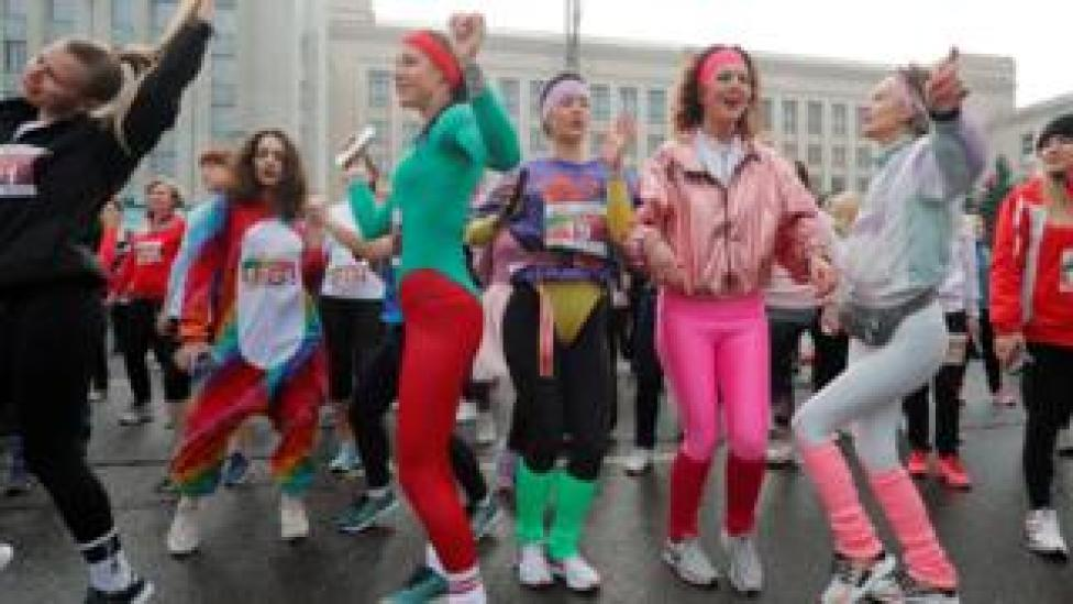 minsk 'beauty run'