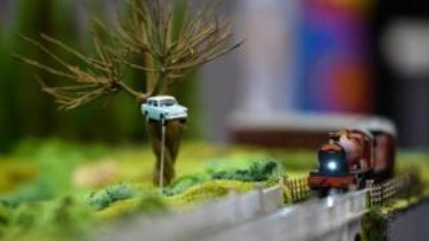 Hornby models display at Toy Fair 2019