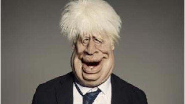 Puppet of Boris Johnson
