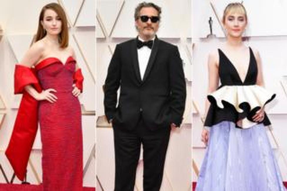 Kaitlyn Dever, Joaquin Phoenix and Saoirse Ronan