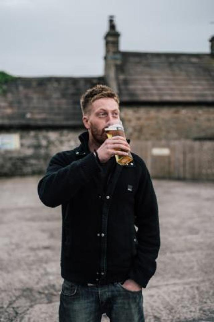 Farmer Jonny Spink was in his local The Three Horseshoes in Wensley.