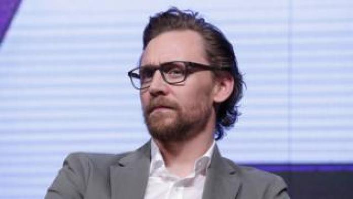 Tom Hiddleston attends the press conference for 'Avengers Infinity War' Seoul