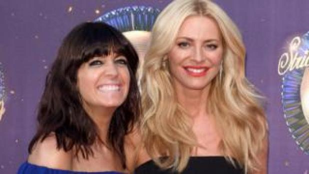 Strictly Come Dancing hosts Claudia Wikleman and Tess Daly