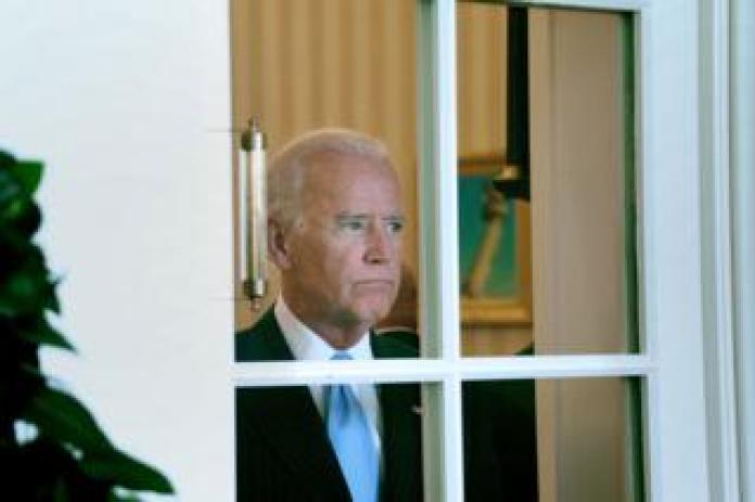 Joe Biden in White House in 2014