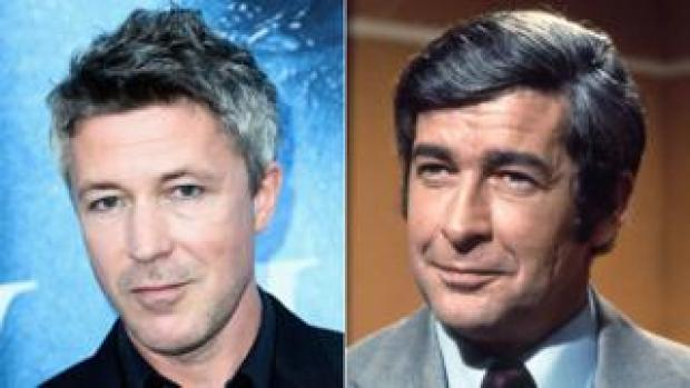Aidan Gillen and Dave Allen