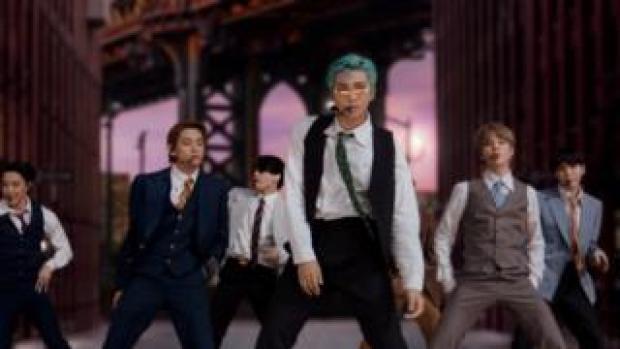 BTS perform at the VMA Awards
