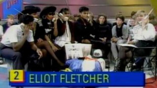 Eliot Fletcher calls the BBC's Going Live