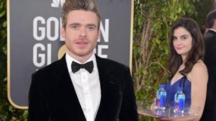 The bar with actor Richard Madden
