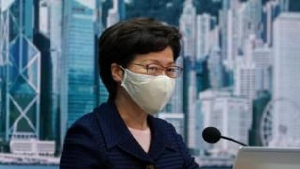 Security: Carrie Lam on Friday 31 July