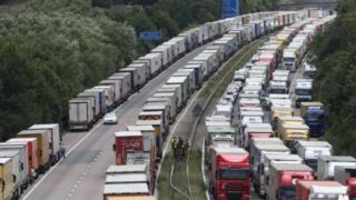 Operation Stack verursachte zuvor Verkehrsprobleme in Kent