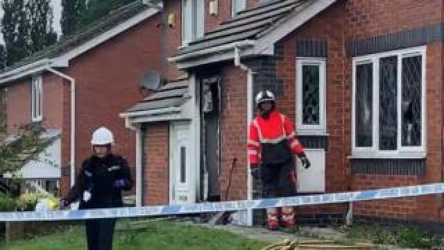 The fire happened at a house in Heckmondwike, Kirklees