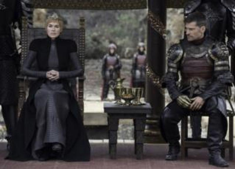 Cersei and Jamie Lannister