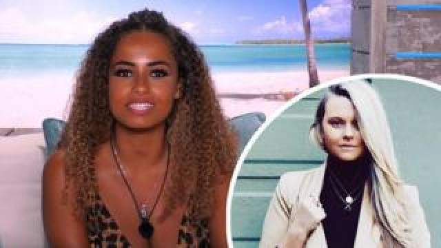 Love Island's Amber, and singer-songwriter Lusaint