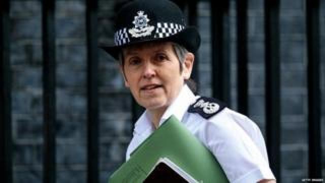 Cressida Dick outside Downing Street