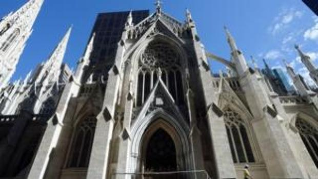 St Patrick's Cathedral in New York, September 2015