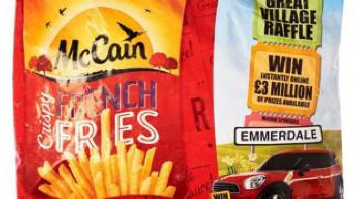 McCain fries