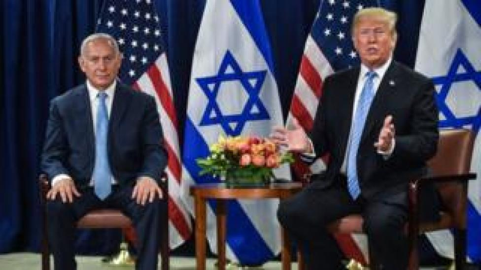 NEWS Benjamin Netanyahu and Donald Trump meet on the sidelines of the UN General Assembly in New York (26 September 2018)