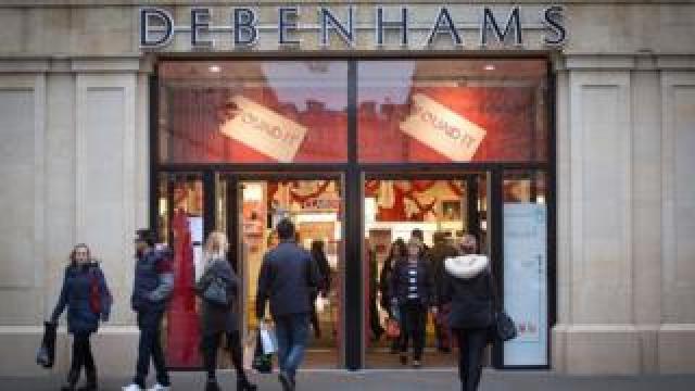 Debenhams shop