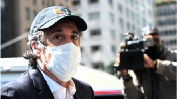 Michael Cohen seen in May