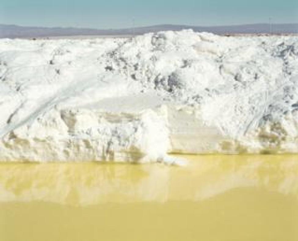 Lithium mine in the Atacama Desert.