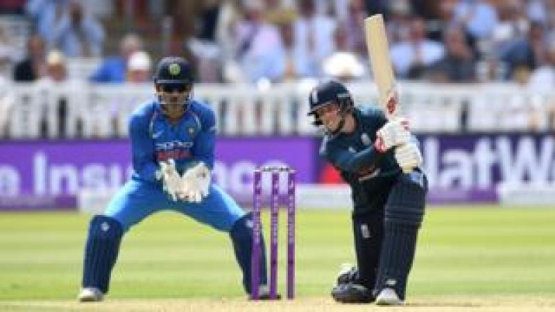 England v India in a one day international at Lord's in July 2018