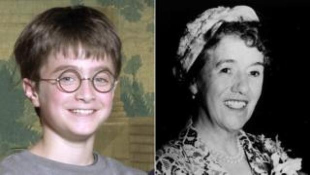 Daniel Radcliffe and Enid Blyton