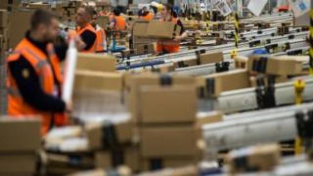 Amazon's Peterborough warehouse