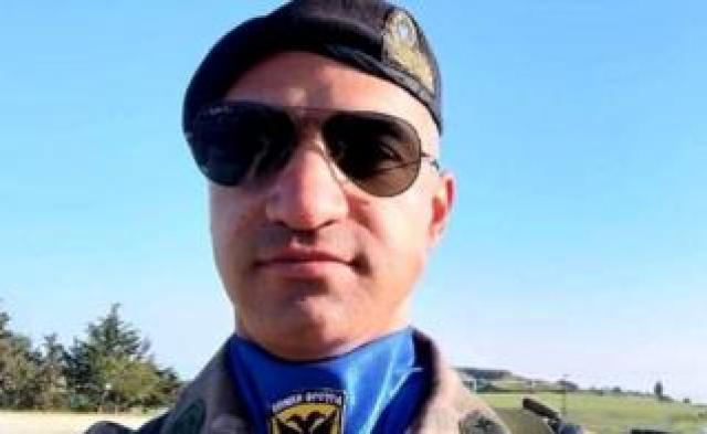Greek-Cypriot army officer Nikos Metaxas, 26 April 2019