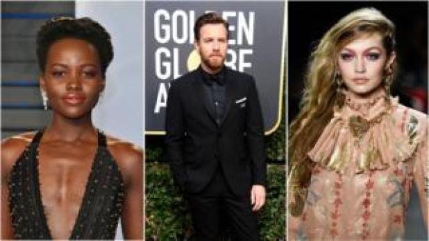 Lupita Nyong'o, Ewan McGregor, Gigi Hadid