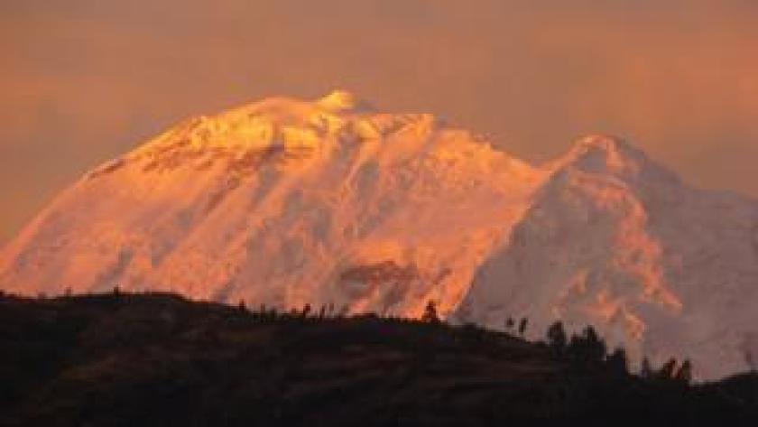 El nevado Huascarán.