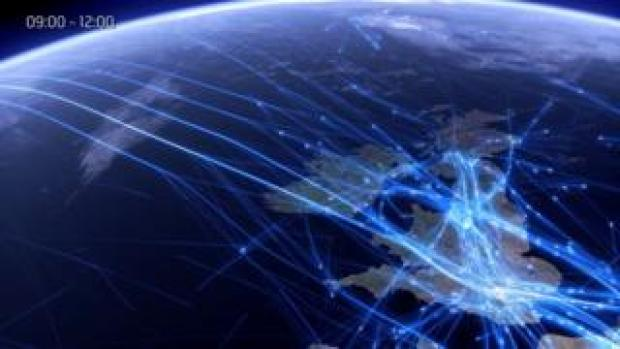 Air traffic our UK and Atlantic