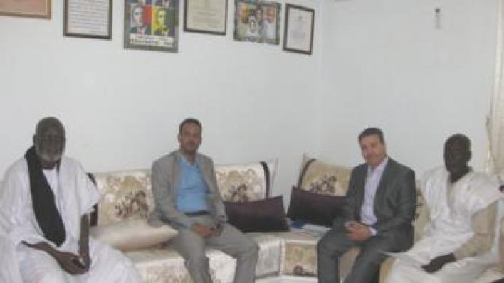 """لقاء مع مجموعة من العاملين في جمعية """"نجدة"""" العبيد في نواكشوط"""