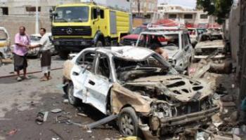 A bomb strike in Yemen in March