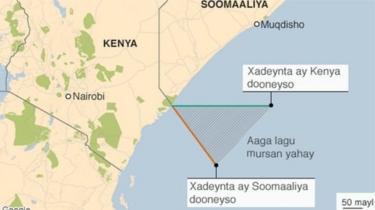 Soomaaliya ayaa dacwadda muranka badda ee kala dhexeeya Kenya u gudbisay maxkamadda cadaaladda dunida ee ICJ