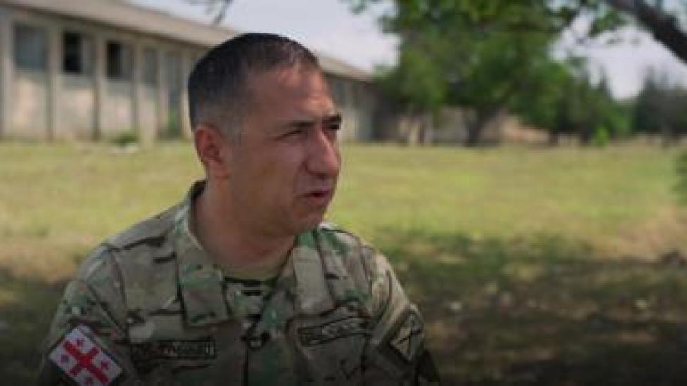 Lt Col Giga Dzhincharadze